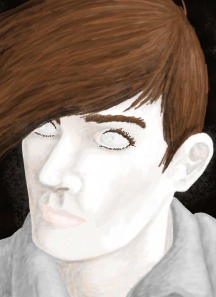 2011/03 - HoH Trowa Portrait (Cursed)