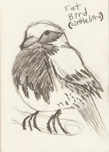 2010/02 - Bird Sketch 1